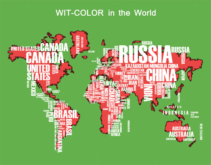 witcolor in the world